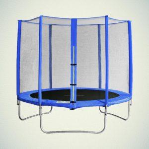 батут 305 см с защитной сеткой 183 см спорт отдых