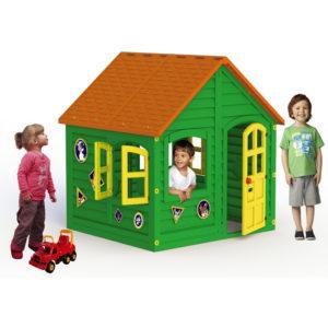 домик зелёный детский игра игрушка для детей и малышей для улицы и дома