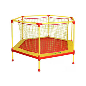 батут манеж 135 см для детей с защитной сеткой игрушка для ребёнка