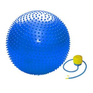 мяч массажный 65 см для игр детей спорта фитнес йога пилатес гимнастика спортзал дома