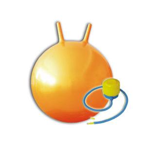 мяч с рожками для детей и взрослых спорт игра дом природа тренировка зарядка пробежка мастерство чемпион