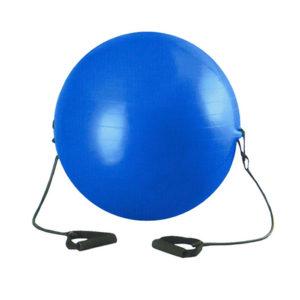 мяч с эспандером 85 см надувной с насосом в комплекте эспандер в комплекте йога фитнес бодирок воркаут гимнастика дзюдо самбо каратэ