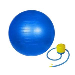 мяч гимнастический 65 см для занятий гимнастикой спортом йогой калистеникой воркаутом для дома и зала детей и взрослых