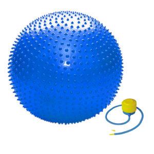 мяч массажный 75 см для пресса спины массажа игры детей дома на улице в спортзале