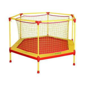 батут манеж 160 см для детей домашний попрыгун с защитной сеткой для дома улицы школа сад
