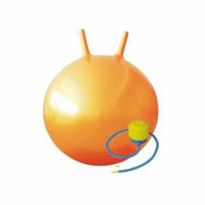 мяч с рожками 45 см для детей взрослых фото картинка фотография фитнес зарядка йога пилатес тренировка дома и на улице в зале спорттовары