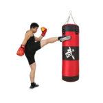единоборства отработка ударов руками ногами фото картинка груша манекен макивара лапы мешок боксёрский надувной подвесной напольный для детей взрослых фотография изображение бокс каратэ